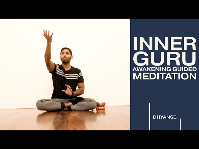 Awaken your INNER GURU | Don't look outside for help | Discourse & Guided Meditation