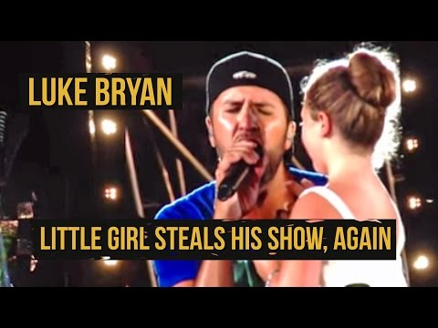 """Luke Bryan Brings Girl On Stage for """"Someone Else Calling You Baby"""""""