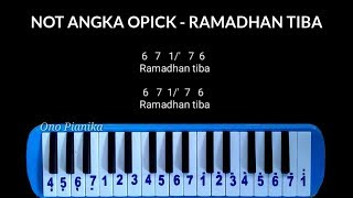 Not Pianika Opick - Ramadhan Tiba