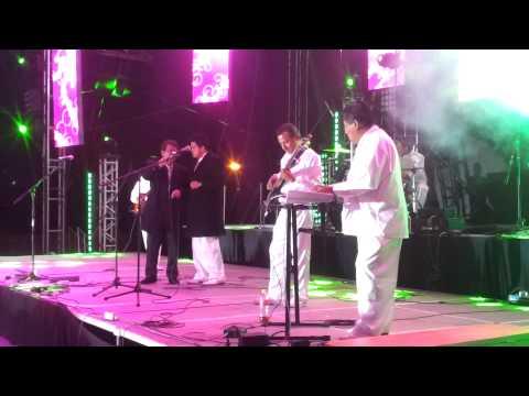 """Fernando Arias Y Sus Pasteles Verdes Del Peru En Vivo """"EL RELOJ"""" Feria Jerez Zacatecas 2014"""