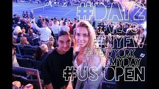 VLOG: NY DAY 2   Теннисный турнир US OPEN   Federer vs Del Potro   Магазин Корейских Масок