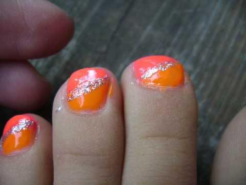 summer toe nail design  youtube