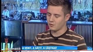 """Octavian Oprea, primul câștigător al show-lui culinar """"Hell"""