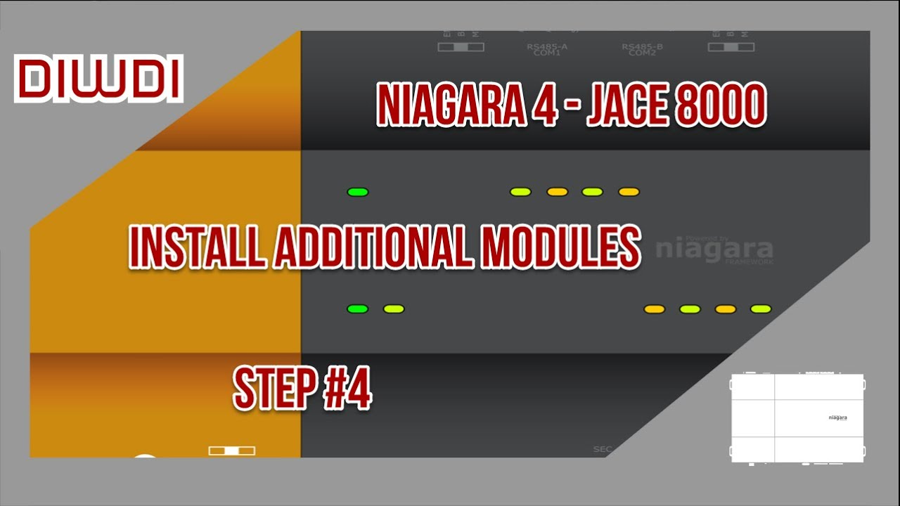 Niagara 4 - Install Additional Modules On JACE 8000