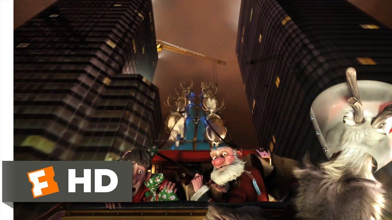 Arthur Christmas (5/10) Movie CLIP - Going Through Canada (2011) HD ...