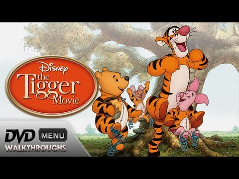 The Tigger Movie 2000, 09 DvD Menu Walkthrough