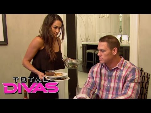 Nikki Bella prepares dinner for John Cena: Total Divas, December 1, 2013 Travel Video