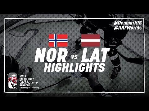 Game Highlights: Norway vs Latvia May 5 2018 | #IIHFWorlds 2018