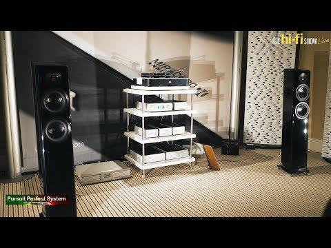 Elac Vela FS407 Audio Alchemy Studio Connections HiFi Cables @ The hi-fi Show Live 2018