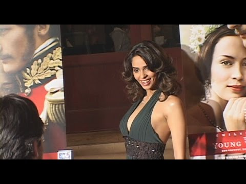 "Mallika Sherawat Interview ""The Young Victoria"" Premiere Red Carpet"