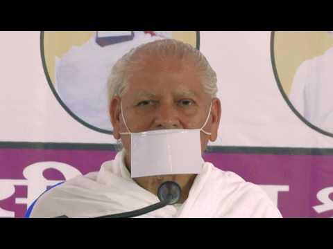 Indore Chaturmas -27 -06-2017  धर्म  की शुरुवात कहा से