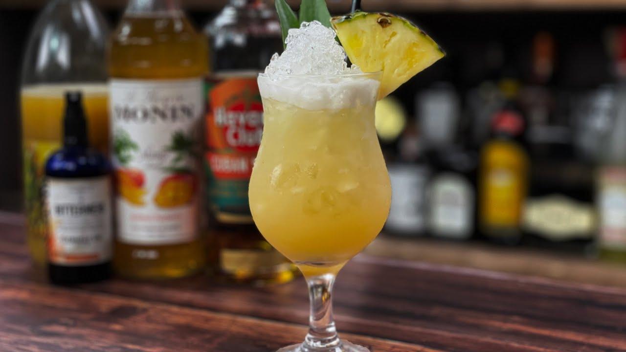 Mango & Spiced Rum Tiki Punch