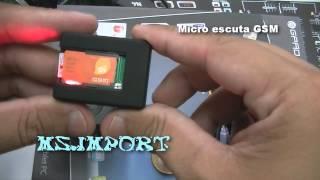 Micro Escuta Espiã Gsm Microfone Espionagem VIVO OI CLAROTIM