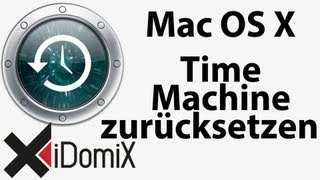 Mac OS X Time Machine voller Reset ohne Datenverlust