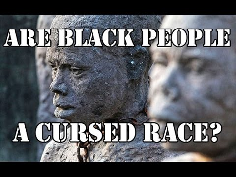 Image result for black people are cursed