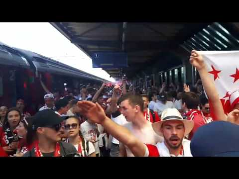 Coupe de Suisse  Football 2017 supporters du FC Sion