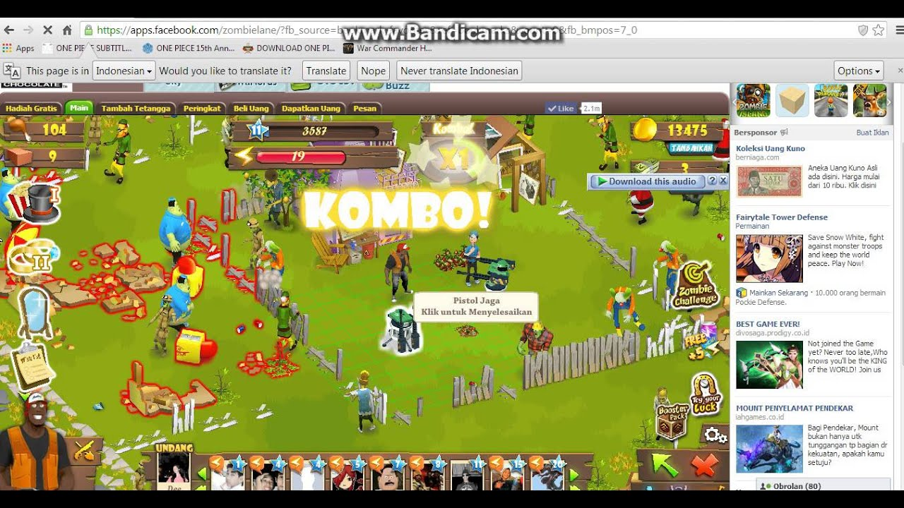 How to cheat zombie land facebook