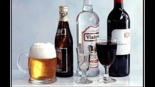 видео Алкоголь при язве желудка: красное вино, пиво, коньяк, водка