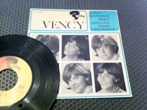 VENCY , A Demi Amoureuse ( Ye-Ye Girls 60's French )