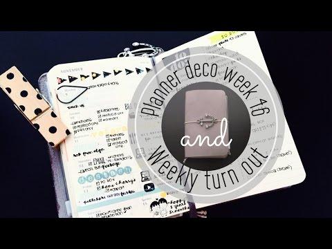Planner Deco Week 46 & Weekly Turn Out (Pocket Moleskine Planner)