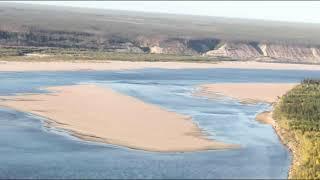 Река Вилюй. Кысыл-Сыр. Республика Саха Якутия.
