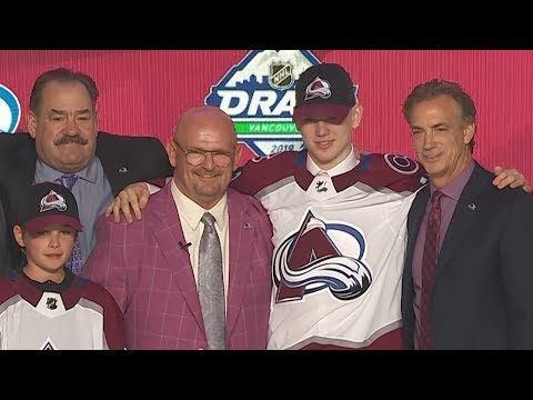 Colorado Avalanche select D Bowen Byram with the fourth overall pick