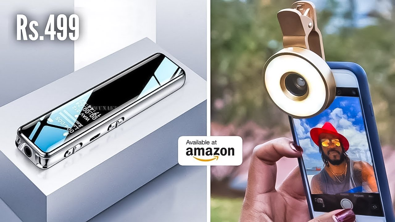 Download 10 COOL SMARTPHONE GADGETS ON AMAZON AND ALIEXPRESS | Gadgets under Rs100, Rs200, Rs500 and Rs1000