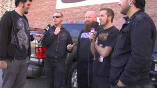 Cattle Decapitation Interview on Metal Injection @ New England Metal and Hardcore Fest 2009