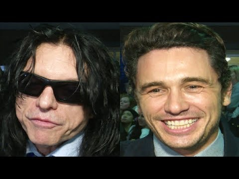 James Franco & Tommy Wiseau Interview The Disaster Artist Premiere