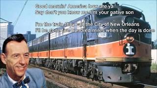 City of New Orleans  Hank Snow with Lyrics YouTube Videos