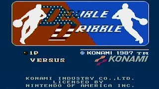 Double Dribble - NES Gameplay