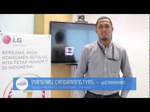 #Digitalk with Imandaru Candraningtyas, Digital Marketing LG Electronics Indonesia