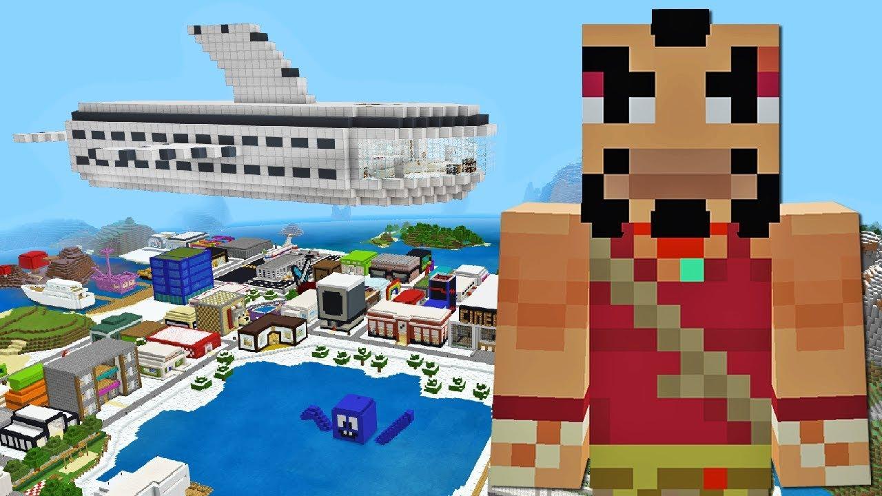 Minecraft Xbox | AIRSHIP ATTACK! [426] - YouTube