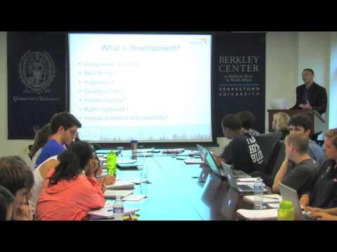 Adam Taylor on Defining International Development