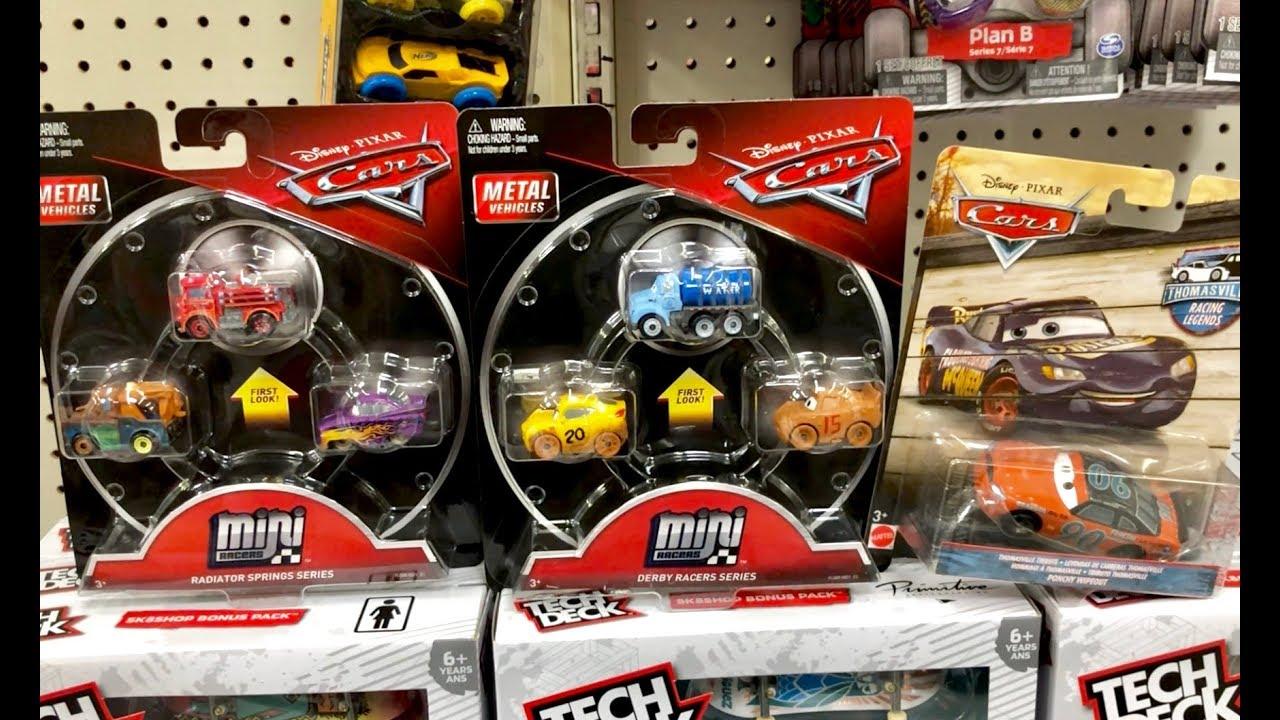MEGA Toy Hunt - Mini Racers Disney Cars Thomasville Racing Legends - Thomas & Friends Minecraft