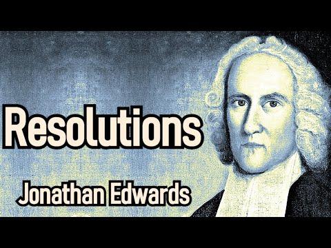 Resolutions - Puritan Jonathan Edwards / Christian Audio Book