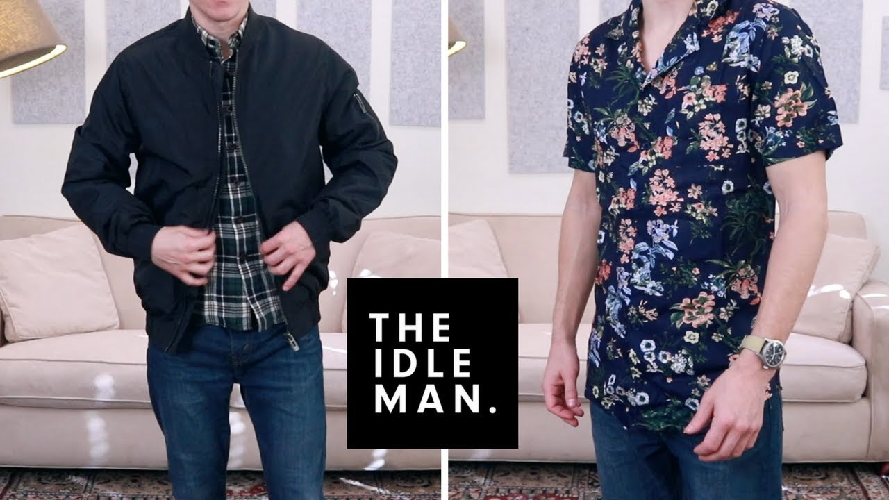9dc3294a2 The Idle Man Haul and Try On | Shirts, Bomber Jacket, Jeans, Trousers