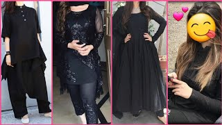 New Latest Black dresses designs for Girls || Latest Black dresses collection For Girls 2019-2020