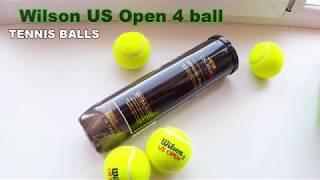 TENNIS BALLS Wilson US Open 4 ball
