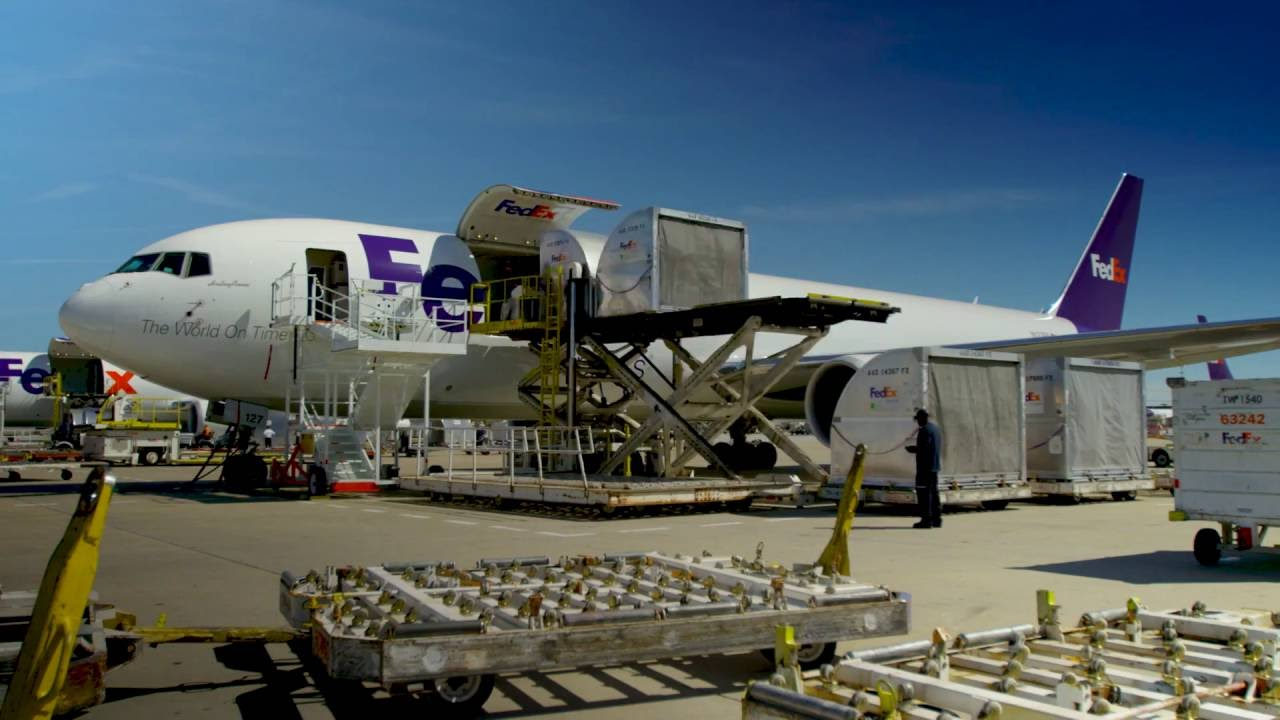 Inside the FedEx Express World Hub