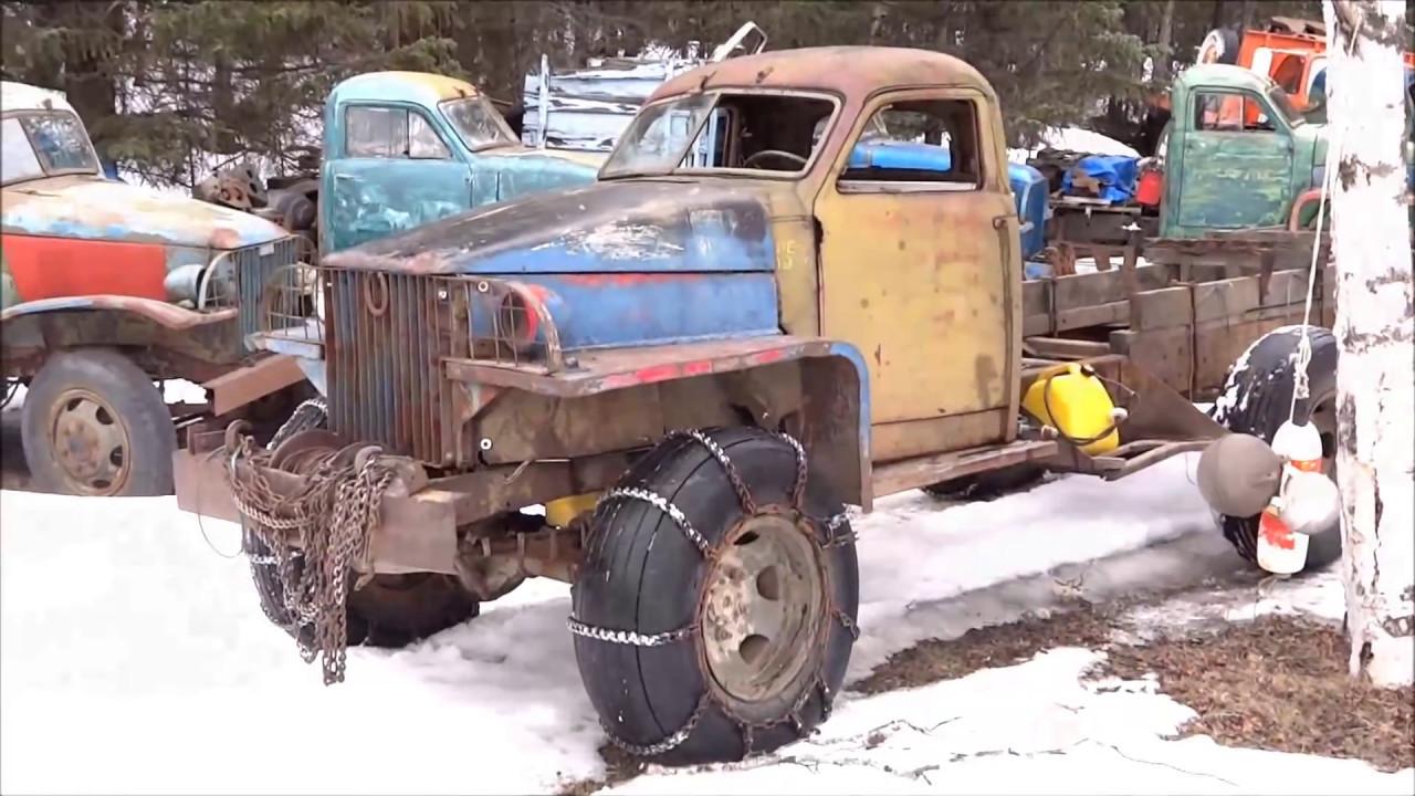 Hillbilly Junkyard Old Trucks - YouTube