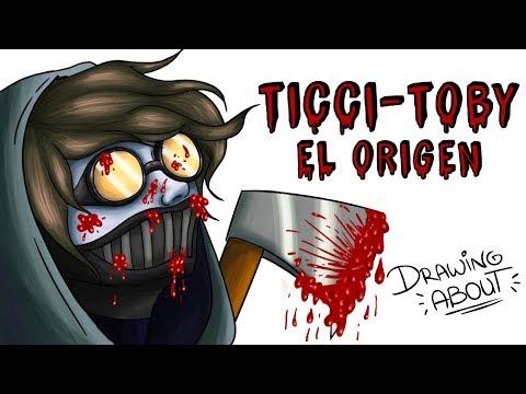 ORIGEN TICCI TOBY | Draw My Life creepypasta