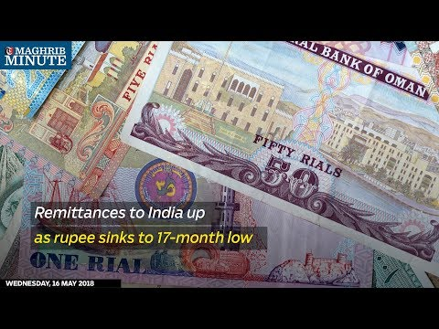 Remittances to India up as rupee sinks to 17-month low