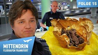 Zoll entdeckt Ekelfleisch am Flughafen | Mittendrin - Flughafen Frankfurt (15)