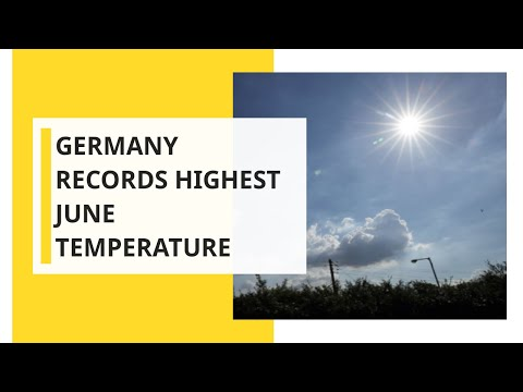 Germany's Temperature Record Smashed As Europe's Heatwave Intensifies