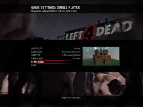 Left 4 Dead Mushroom Massacre Map Gameplay