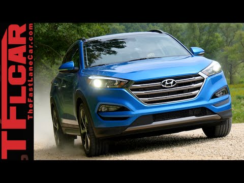 2016 Hyundai Tucson First Look Review Most Improved Crossover of the Year