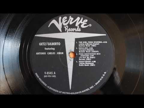 Getz / Gilberto featuring Antonio Carlos Jobim (1964 mono vinyl rip / full album)