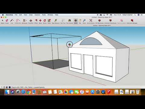 Monopoly House in Sketchup for 3D Printing