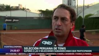 Central CMD: Perú ganó el Sudamericano Sub 12 de tenis